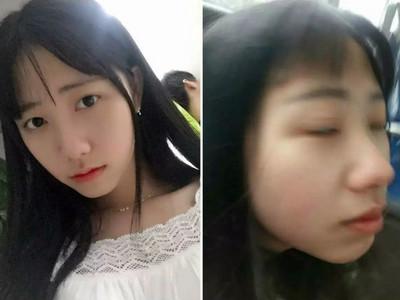 男友拍照把女友變醜女!到底誰才是原形啊?