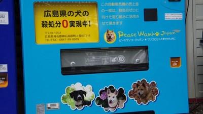 日本零撲殺善心販賣機,愛買飲料的你也能救狗狗一命