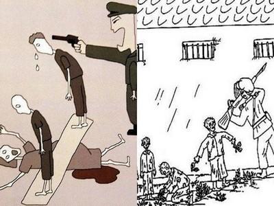 脫北者親筆畫下「北韓收容所」黑暗面…吃草也會被殺!