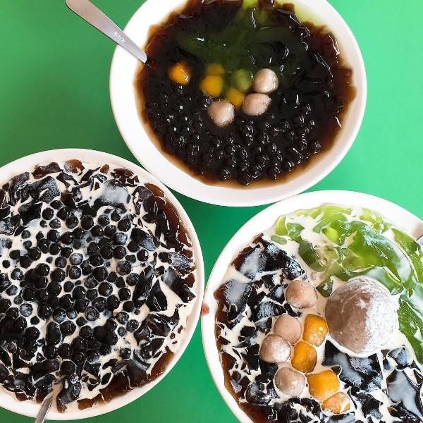 台南「大三圓」銅板美食 凍圓甜點挑戰表面張力極限!