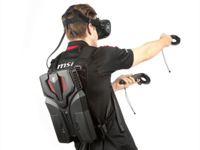 史上最輕薄「 VR 電腦背包 」!這比寶可夢AR還屌