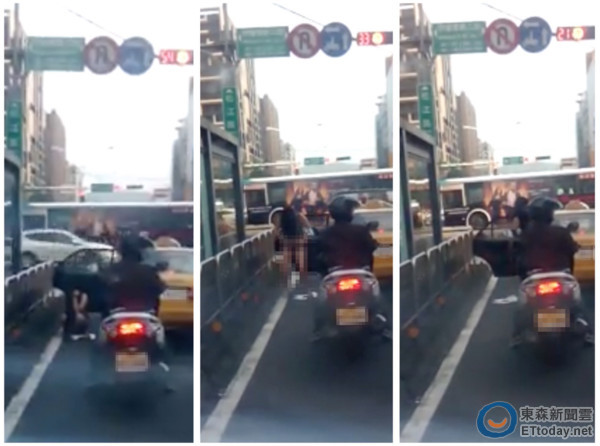 搭小黃等紅綠燈 女尿急直接在行天宮旁大馬路小解