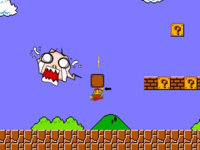 玩這麼多年瑪莉歐,你有發現他「不是用頭撞磚塊」嗎!
