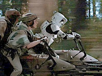 星際大戰真實上演?!美軍研發「飛行摩托」布局未來戰爭