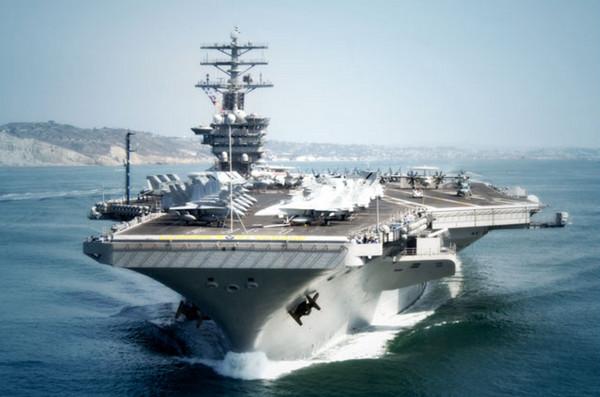▲美國的尼米茲號航空母艦。(圖/翻攝自美國海軍官網)