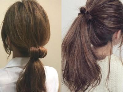 日本大人氣髮型「甜甜圈馬尾」 男女生都愛❤