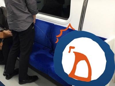 韓國地鐵1號線怪人多,這次輪到「尿尿男子」出沒啦