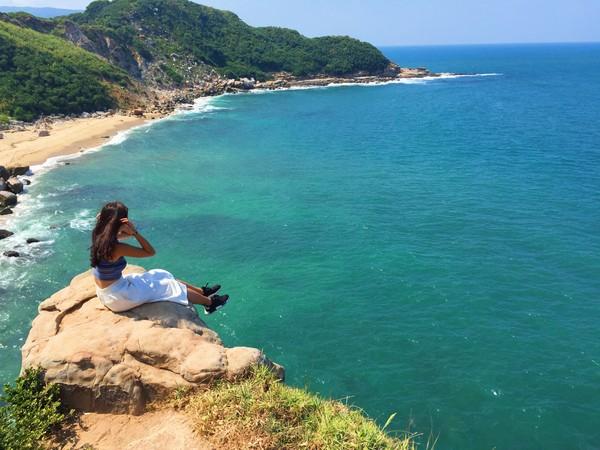 神秘海岸。(圖/網友ig chia1018_ 提供,請勿任意翻攝,以免侵權)