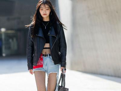 首爾時尚引領亞洲!隨便搭個「落肩飛行外套」都好潮~