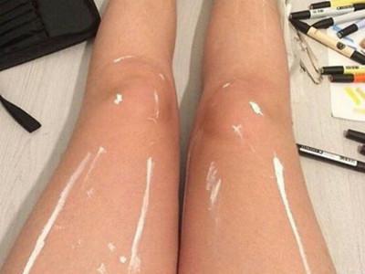 你看見甚麼?instagram一雙「油亮的腿」引百萬網友爭辯