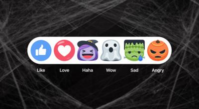 快訊/ 萬聖節搞鬼!臉書FB推出幽靈、南瓜應景符號啦~