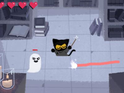 Google萬聖限定「黑貓魔法師」超好玩!你跟上了嗎?