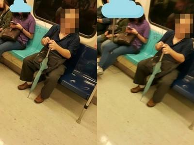 女被指碰腿 男:手掌摸才算性騷