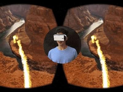 VR讓你愛上尿尿!髒臭廁所居然變銀河系啦~