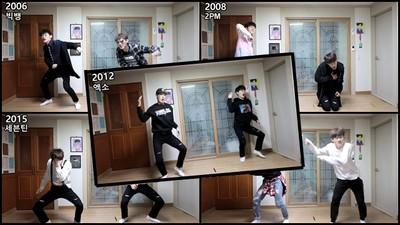 3分鐘「跳」完韓國「男團史」!抽風舞姊笑到認不出來啦