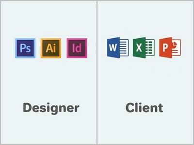 「設計師」vs「客戶」,你腦子只有word跟小畫家嗎?
