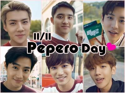 11月11日「Pepero Day」!與歐巴一起互送巧克力棒暖暖過