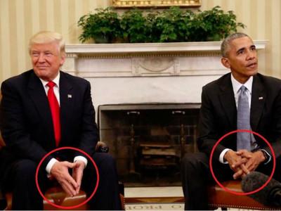 川普會歐巴馬「肢體語言」露恐懼,還把白宮員工嚇哭了