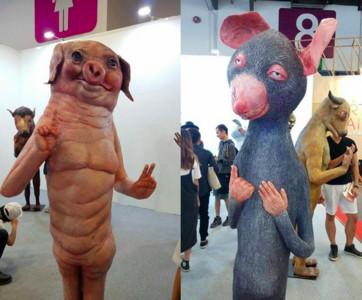 台北藝術博覽會拍獨一無二藝術美照