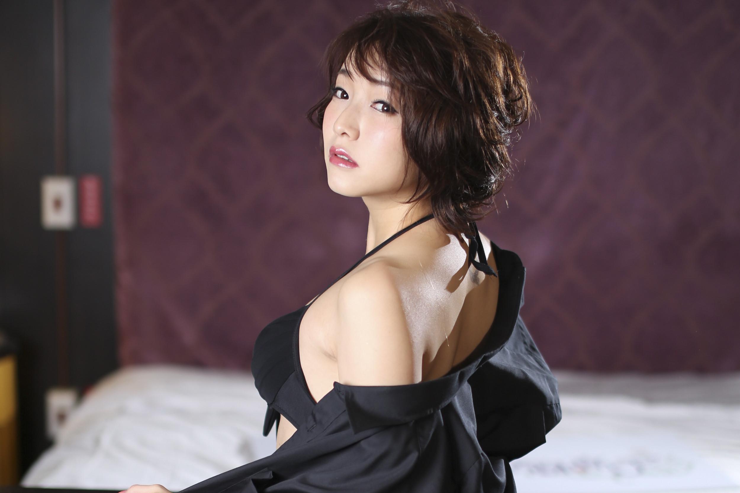 AV女優涼川絢香專訪(圖/記者黃克翔攝)
