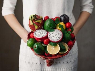 想吃!可食用「蔬果捧花」,吃貨們眼睛都為之一亮啦~(盯)