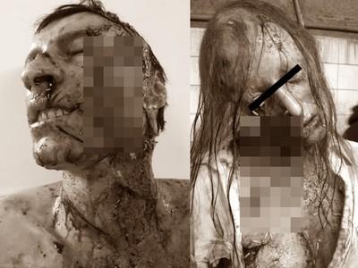 超嚇人!法國頂尖特效化妝團隊,讓你活人變喪屍