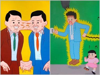 「重口味暗黑漫畫」作者這禮拜五來台灣,準備腦補去看展吧