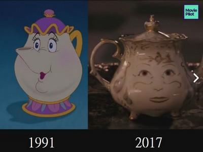 神剪接!《美女與野獸》預告上線,真人版跟26年前動畫一模一樣