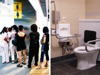 只剩無障礙廁所空著!女子才剛脫褲就被毒罵「沒道德」