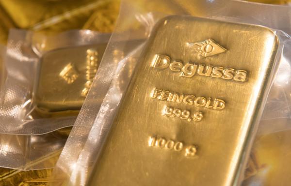 香港發生黃金大劫案,被搶走的81條金條總值近一億萬台幣。 (圖/達志/示意圖)