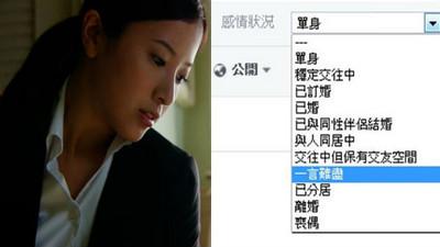 臉書感情狀態「一言難盡」代表? 網酸:偽裝自己有行情