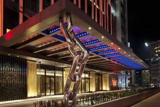 W hotel(圖/翻攝自官網)