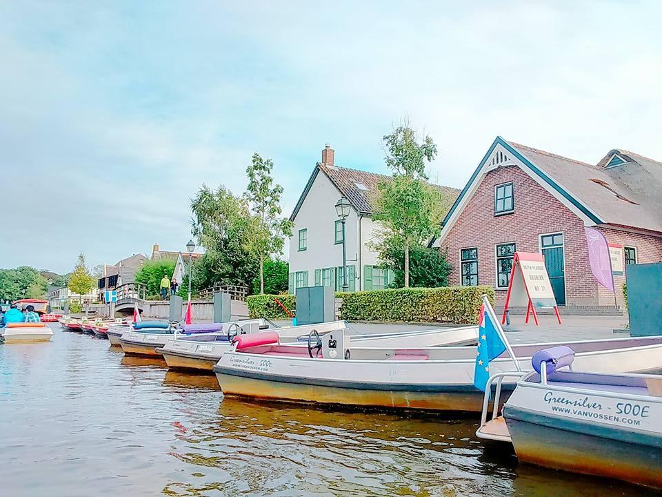 荷蘭,阿姆斯特丹,阿姆斯特丹機場,羊角村(圖/記者賴文萱攝)