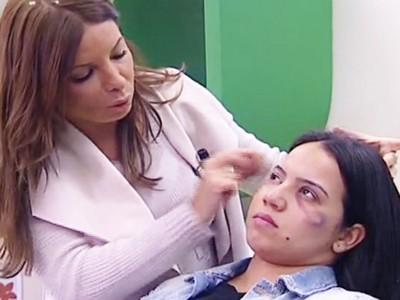 彩妝師教你「遮蓋家暴傷痕」 新節目讓女性觀眾怒了!