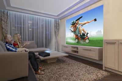 大螢幕才過癮 4K巨「投」在你家