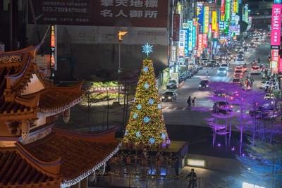 竹市感恩季聖誕點燈 陳建仁親臨
