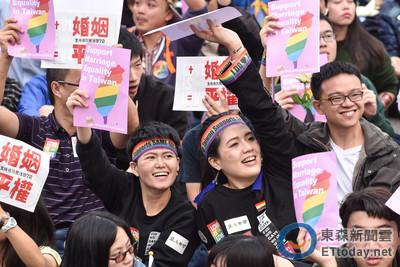 婚姻平權立法 教授嘆:悲觀