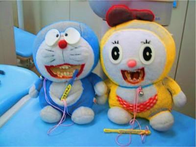8隻恐怖「牙醫鬼娃」,看了會作三天惡夢..