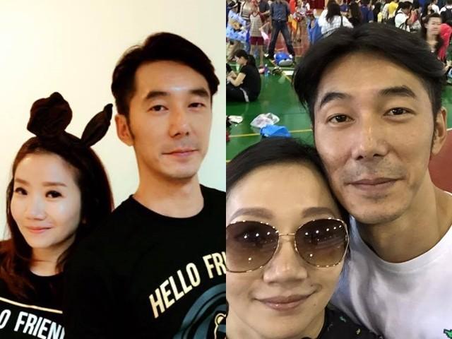 李李仁和陶晶瑩夫妻倆感情很好。(圖/翻攝自陶晶瑩臉書)