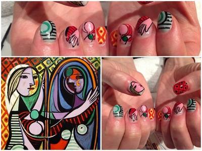 「名畫作」改造大師級指甲彩繪 靠這招還不抓牢藝術男神!