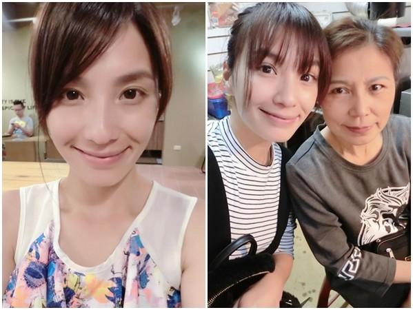 湘瑩月收入銳減160K,回淡水幫媽媽賣雞排。(圖/取自湘瑩臉書)