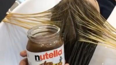 巧克力醬還能染頭髮!金髮妹實測「超~美焦糖色」