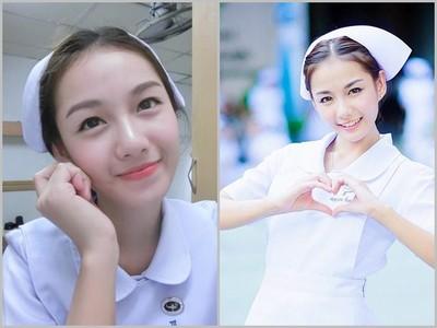 泰國最美護士讓人罹患「妹癌」,病人看到她全身都痛了!