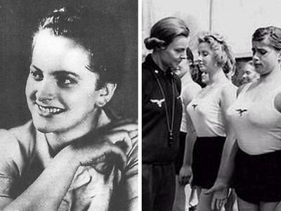 納粹「蛇蠍劊子手」狠鞭女囚胸部!比她美的都沒有好下場
