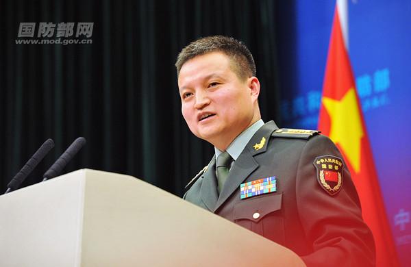 中國國防部發言人楊宇軍。(圖/陸國防部網)