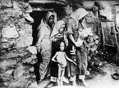 人的屍塊擺地上當肉賣 一戰後蘇俄大飢荒簡直煉獄