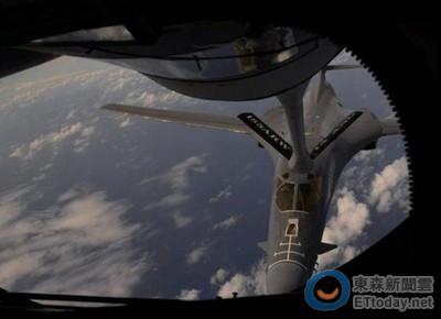 美B-1B闖東海航空識別區 陸警告