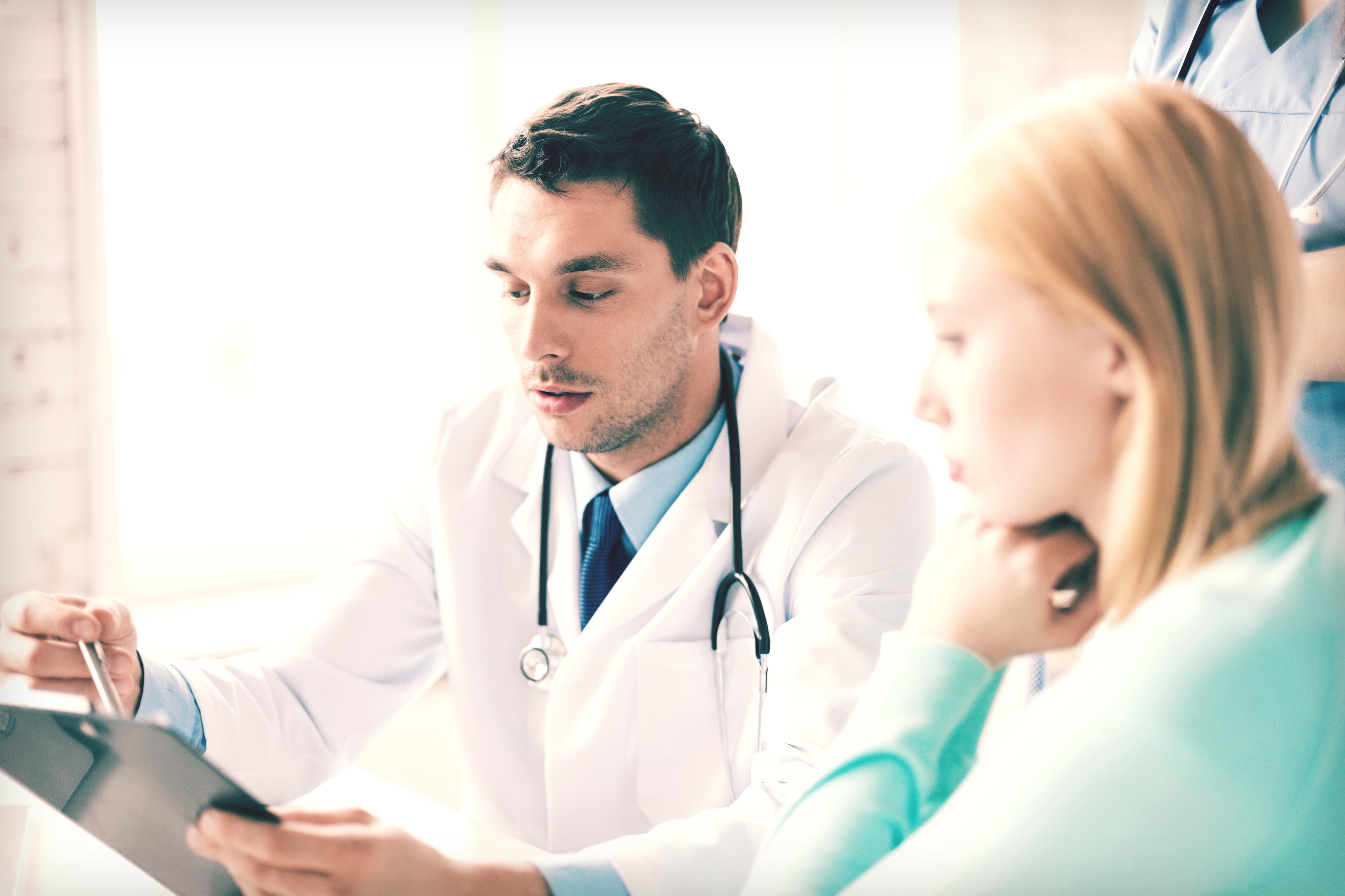 婦產科,醫院,醫生,孕婦,懷孕,問診,看醫生示意圖(圖/達志/示意圖)