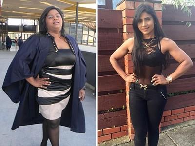 體重破百、一餐兩份大披薩,受盡嘲諷她十個月「減掉半個自己」
