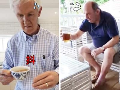 手端咖啡杯抖不停!帕金森氏症「假人挑戰」有洋蔥~